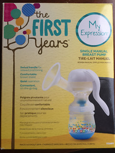 The First Years Single Manual Breast Pump