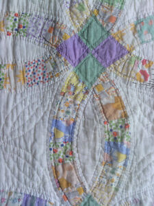 Hand-Stitched Quilt from circa the 1930's
