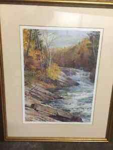 Peter Etril Snyder Print (with frame)