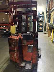 Raymond Reach truck - forklift - stand up Kitchener / Waterloo Kitchener Area image 1