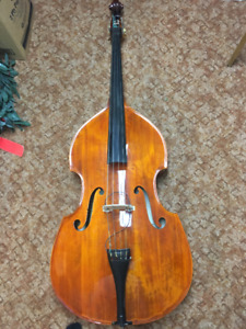 3/4 Upright Bass (Carved Top)