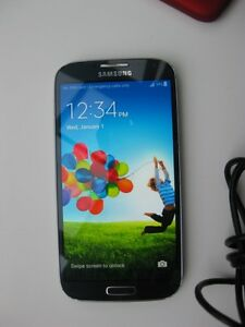 Unlocked Samsung S4 16GB with charger and case