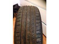 2x 195/55/16 tyres
