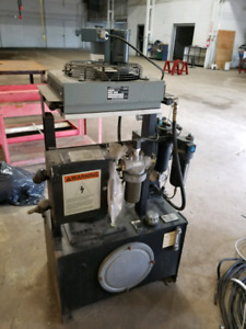 7.5 hp Hydraulic power unit.  Make an offer.