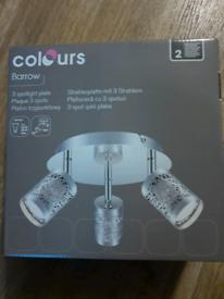 3 Spotlight Plate Ceiling Light (4 available)