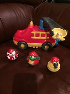 Playskool Weebles Musical Fire Truck