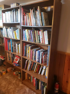 Multiple book cases available