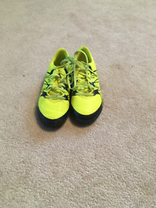 Adidas Boys' Indoor soccer cleats- size 1