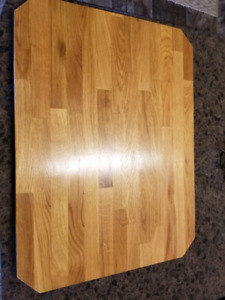Handmade oak cutting board
