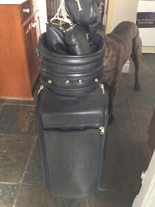 Belding Sport Custom Tour Golf Bag . Leather with leather cover London Ontario image 3