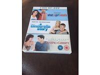 3 DVD set chick flicks