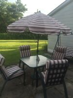 Patio set with swing !!!!