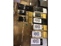 Nokia 6300 unlocked gold silver black
