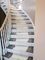 Need someone to install runner on stairs