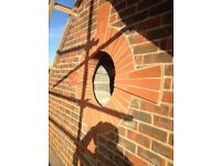 Experienced bricklayer over 25 years in the trade, all aspects of work in the South London area