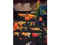 Huge nerf/soft dart gun collection/bundle