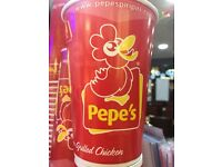 Pepes Piri Piri cashier required