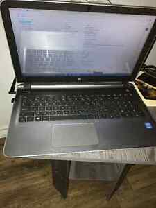 "3 month old HP i7 intel - 15"" sliver - 1yr mcafee"