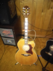 2 acoustic guitars for sale or possible trade