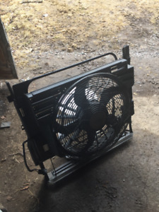 Bmw electric fan from X5