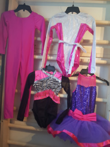 ROBES &ONE PIECE, Leotard GYM patinage danse 8,10,12ans NEW