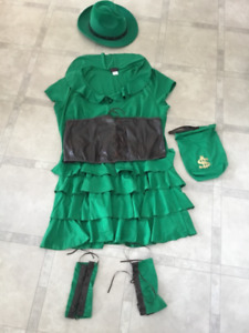 St Patrick's Day costume