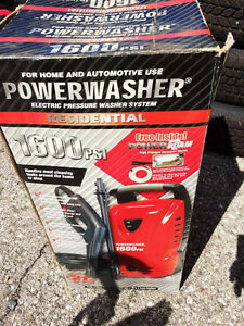 Power Pressure Washer 1600 PSI