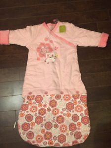 Hallmark Baby Girl's Pink Owl 12/18M Sleeping Sack - Brand new!