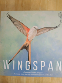 Wingspan board game New and Sealed with Bonus cards