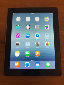 32GB Black iPad in Great Condition