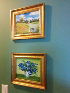 Collection of Paintings and Professional Photography - Framed