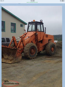 FOR SALE CASE W 24 with bucket n blade n wing St. John's Newfoundland image 1
