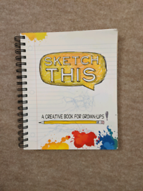 Sketch Book for Grown Ups