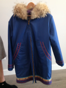 Hand-crafted Inuit Parka
