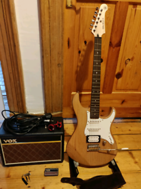 Yamaha Pacifica 112 & Vox Amp (plus accessories)