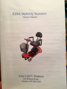 EZ6S Mobility Scooter