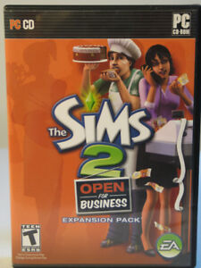 The Sims 2 Open for business Expansion Pack  (anglais seulement)