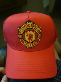 Premier League Manchester United cap hat red one size mesh cap