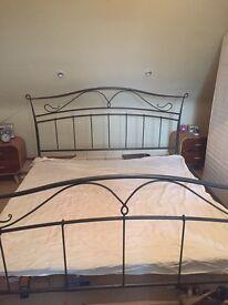 Super king metal bed frame