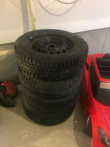 Winter Tires / Wheels - 195 65 R15