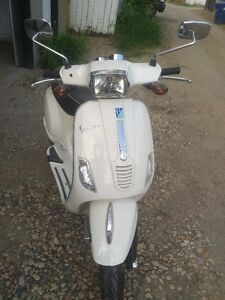 Awesome Vespa scooter