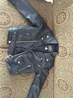 Real leather jacket for girls
