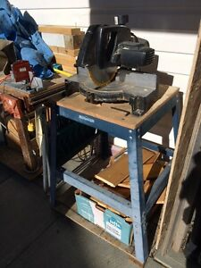 Chop saw and stand