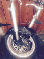 Moto Honda cbr 1000 rr accidenter pour mecanic