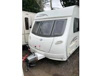 Lunar Quasar 546 6 berth caravan FIXED BUNK BEDS Great Family Layout, AWNING !