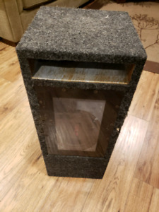 6 inch sub woofer in ported box