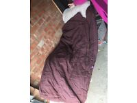 'Ready bed' inflatable sleeping bag