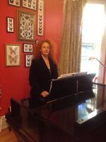 Cours de piano, dans NDG