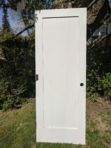30in solid wood door