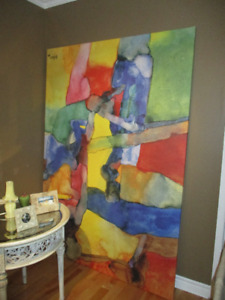 Fun, Very Large Painting -Ready for Pick Up!!!